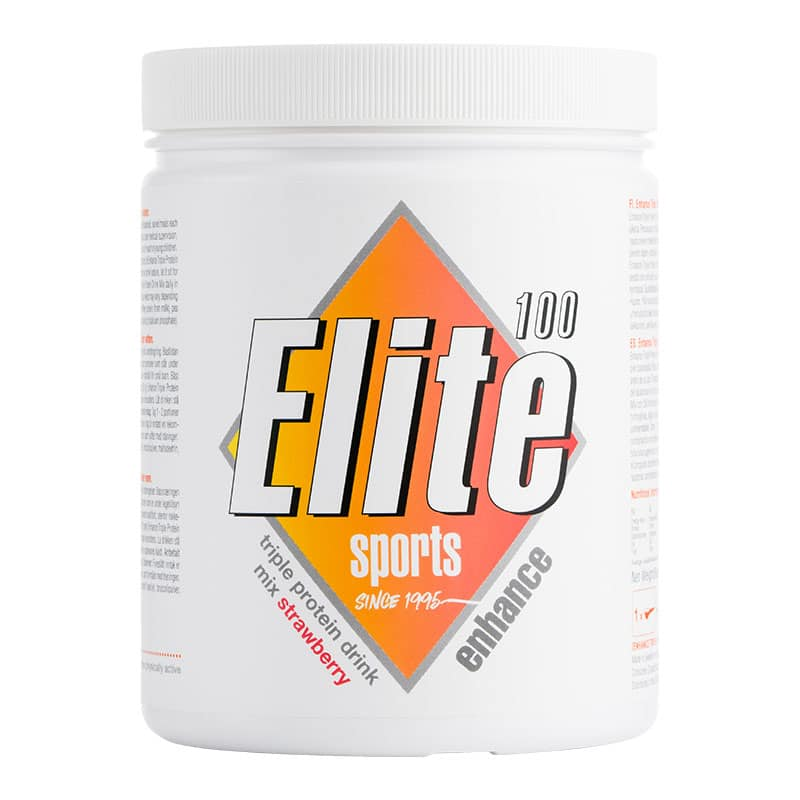 Elite Enhance Triple Protein Drink Mix Strawberry