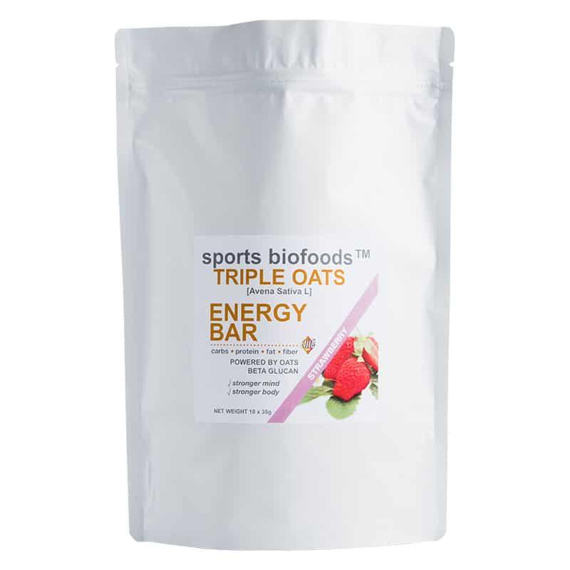 Triple Oats Energy Bar strawberry