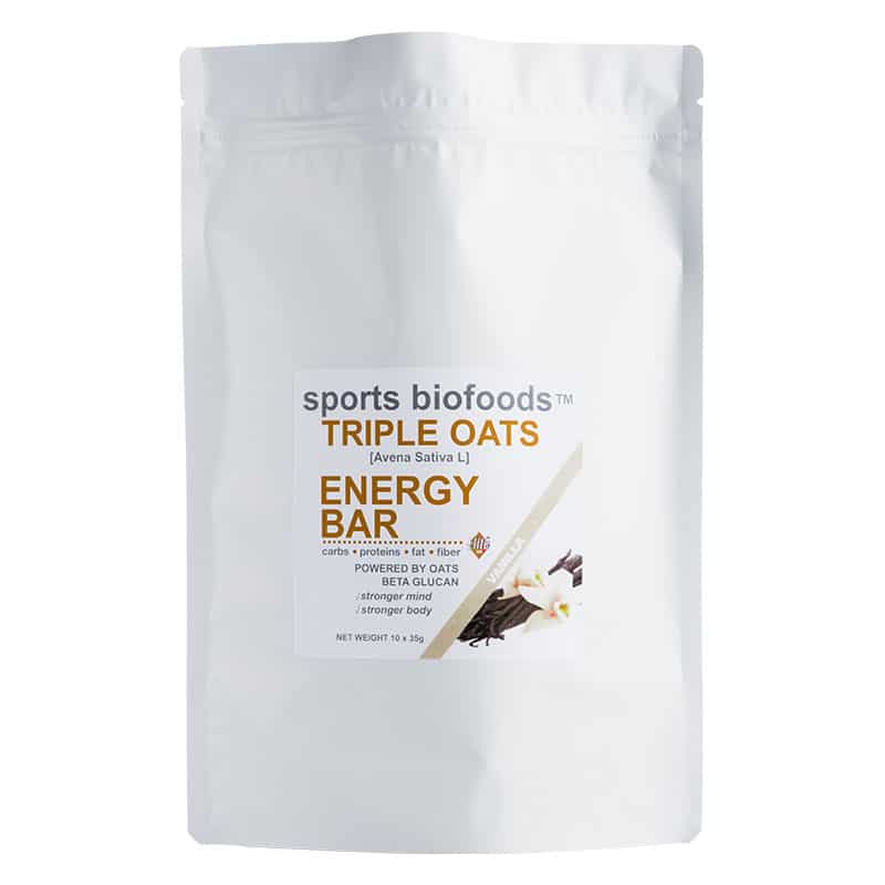 Triple Oats Energy Bar vanilla